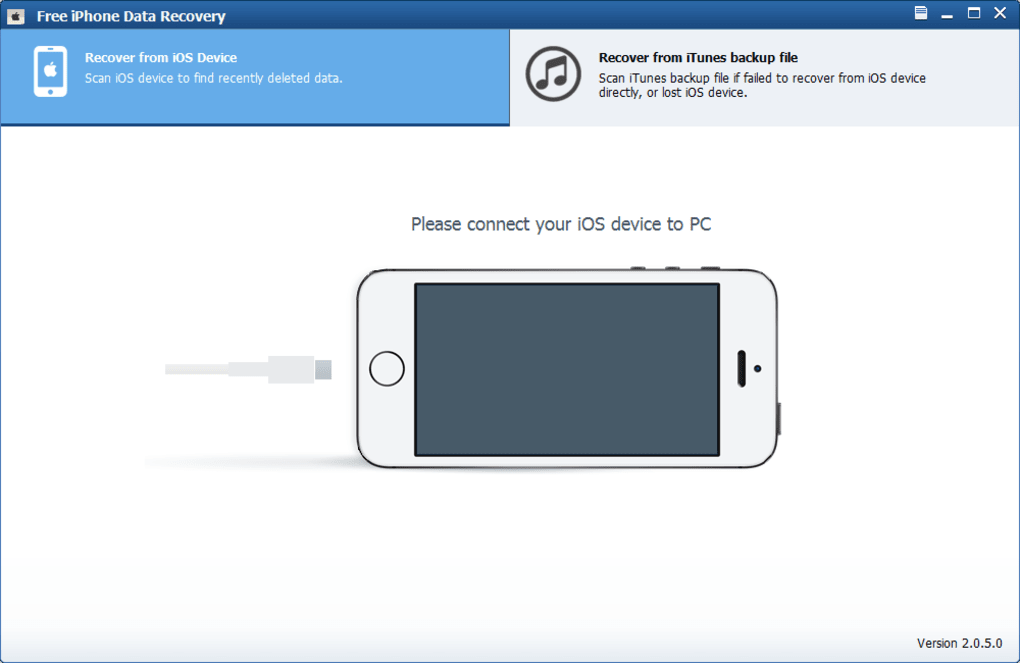 Free iPhone Data Recovery - Download