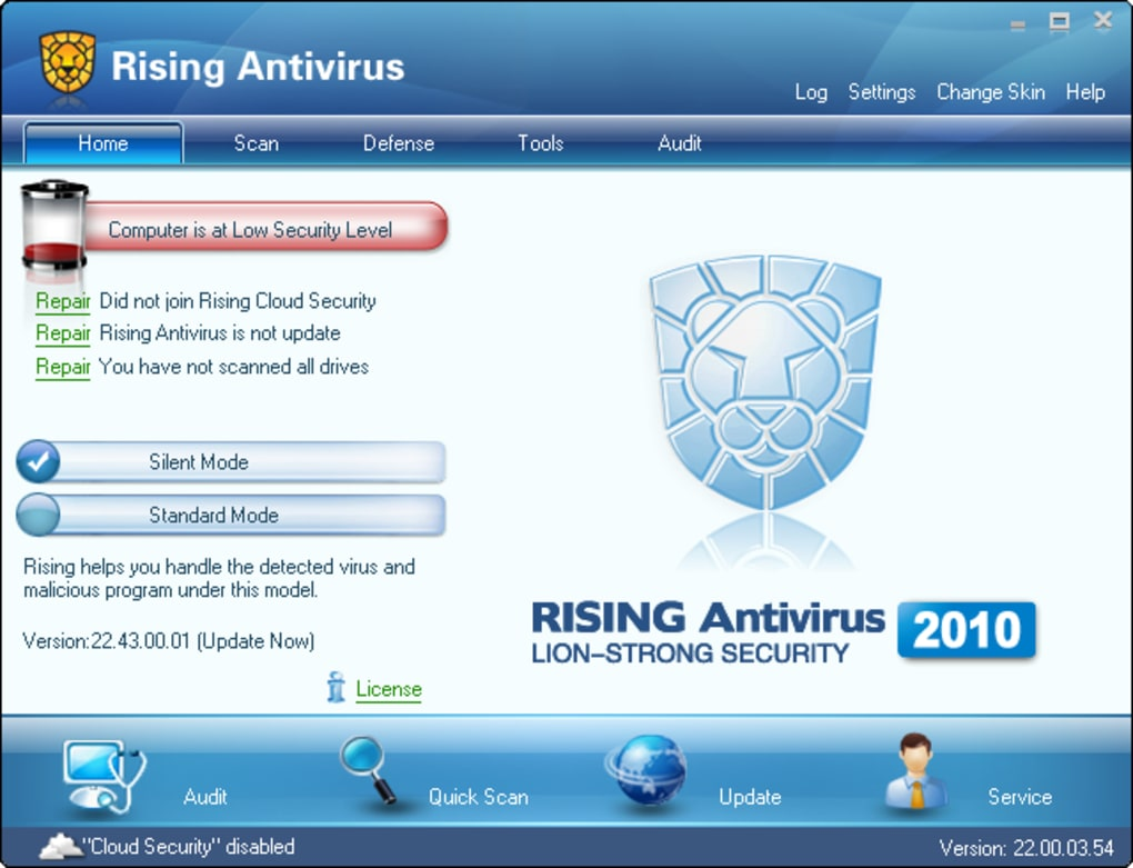 Antivirus freedom   svca, inc.