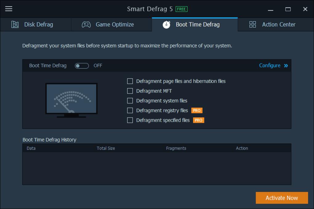 smart defrag 6 key code