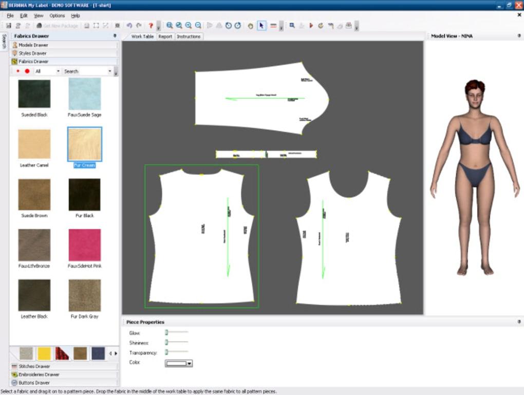 Scaricare software stilista moda