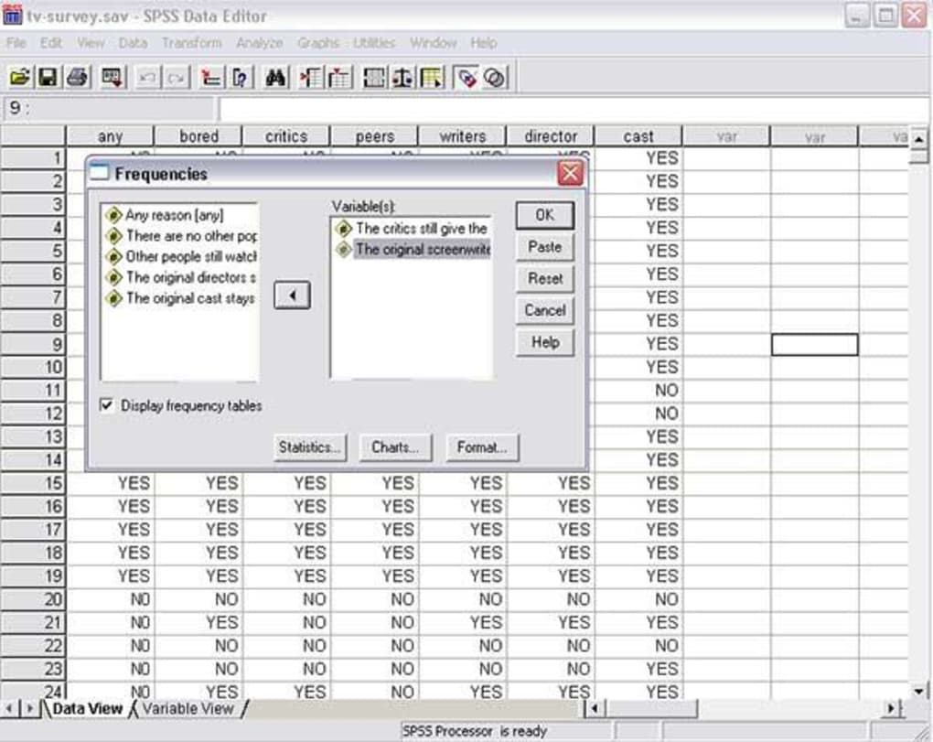 Spss download.