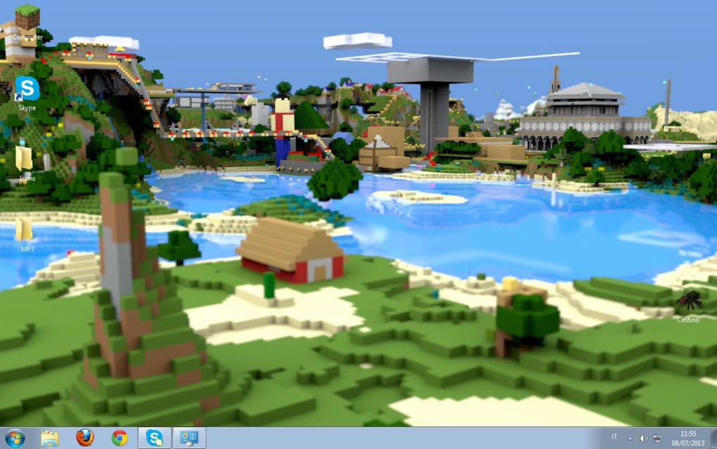 Minecraft Windows Theme (Windows) - Download