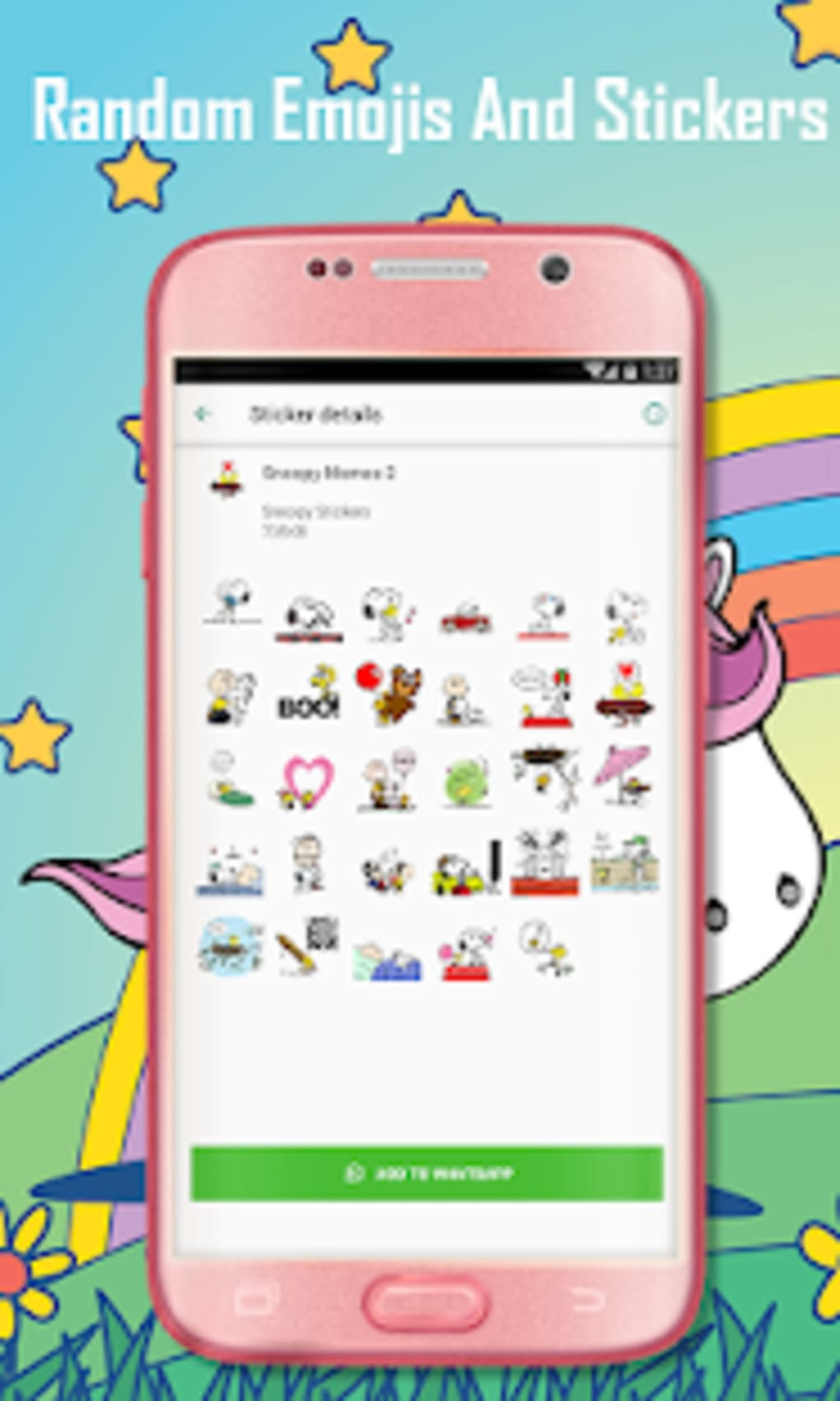 Snoopy Stickers For Whatsapp Wastickerapps Apk Fur Android Download