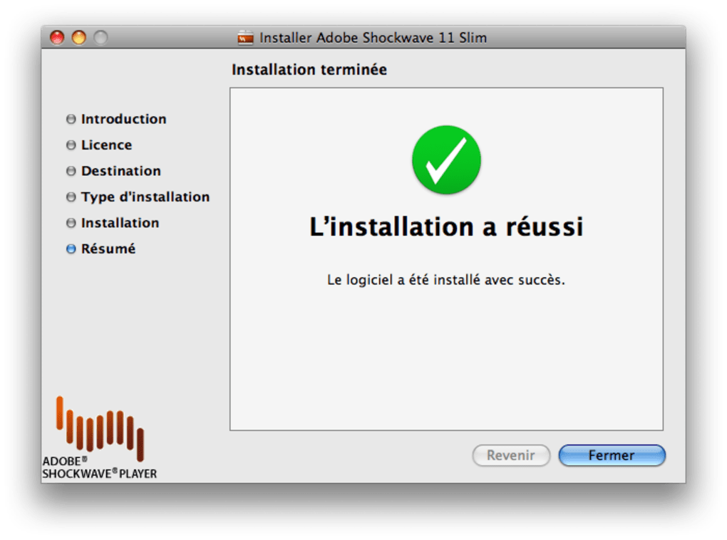 gratuitement adobe shockwave player 11.5