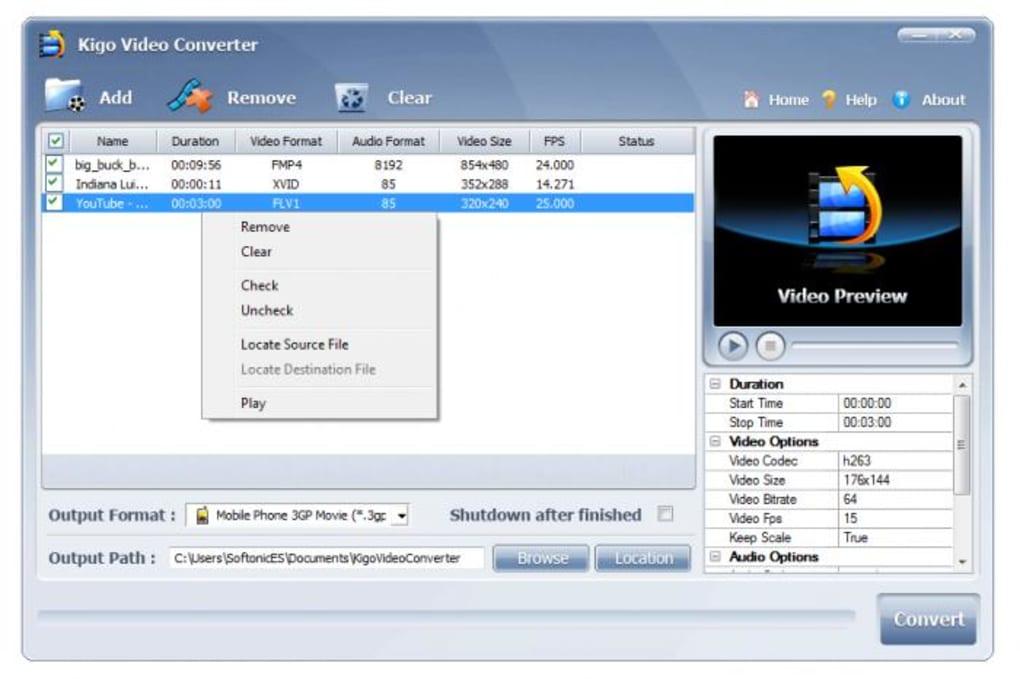 kigo video converter gratuit pour mac