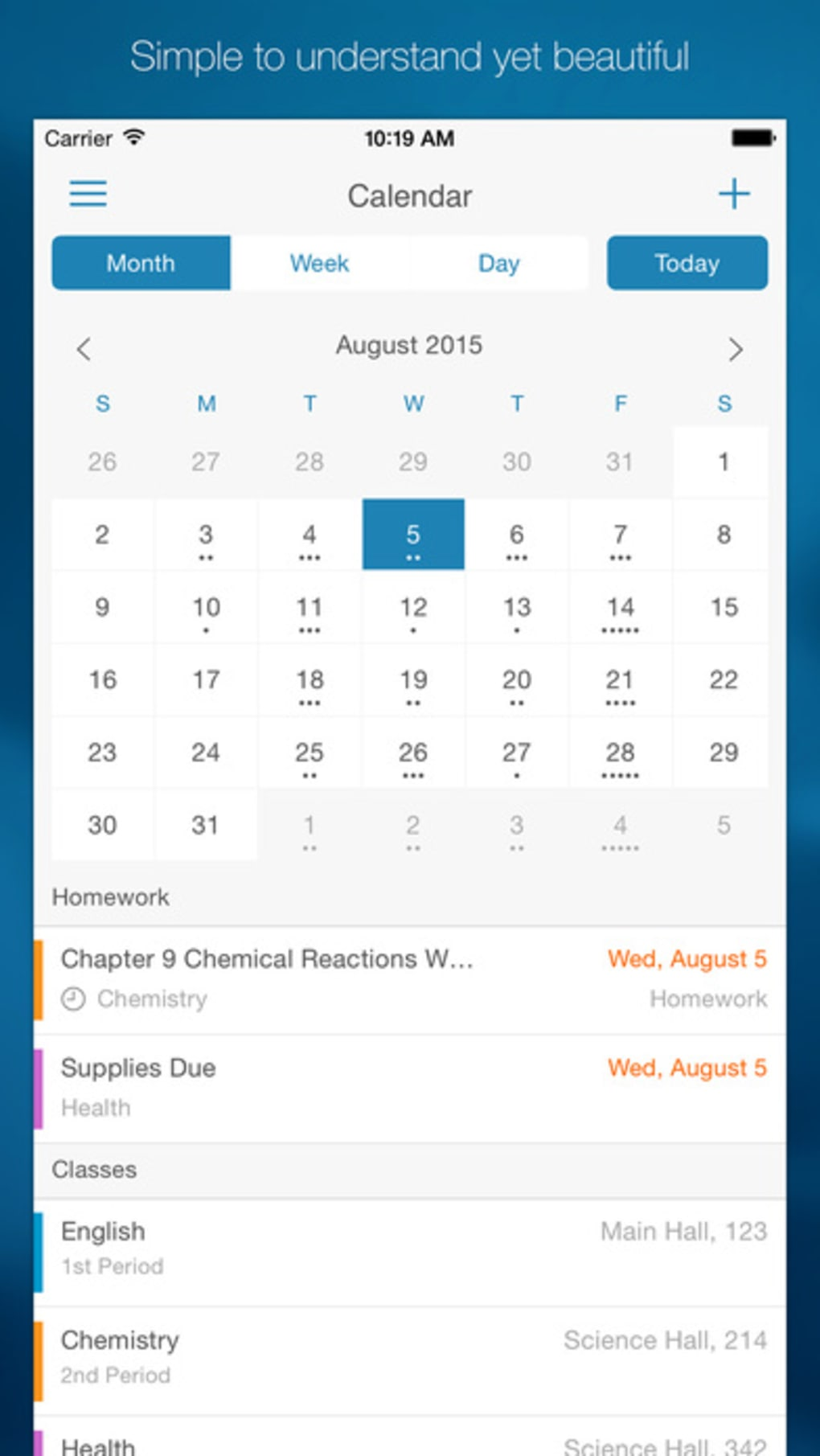 myhomework student planner for iphone