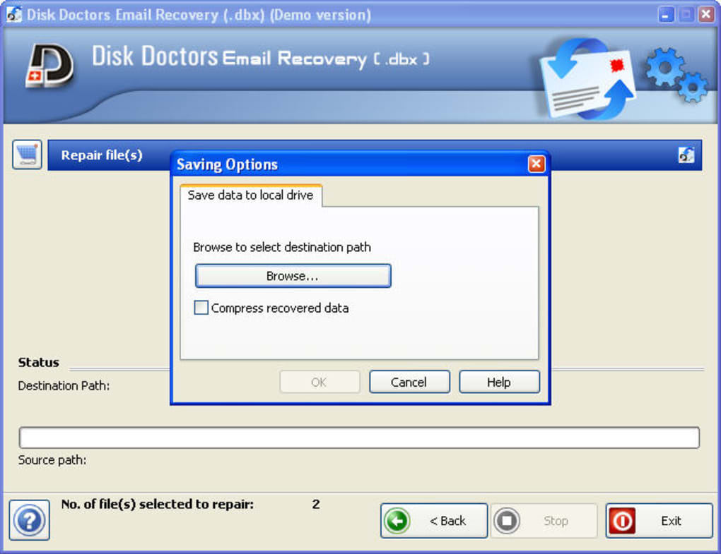 Outlook Express Email Recovery Software - Download