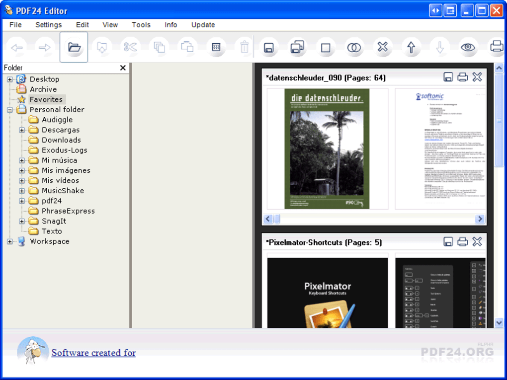 Download pdf creator editor open source software: pdf creator pro.