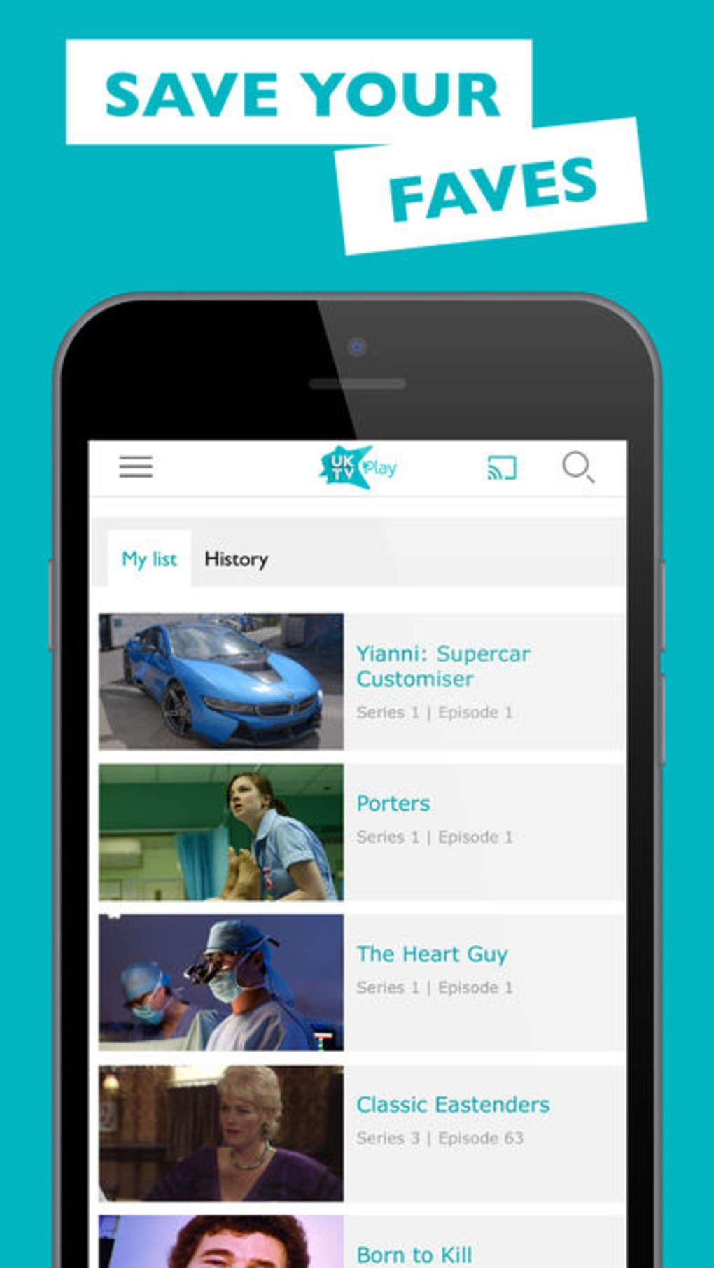 UKTV Play: TV On Demand for iPhone - Download