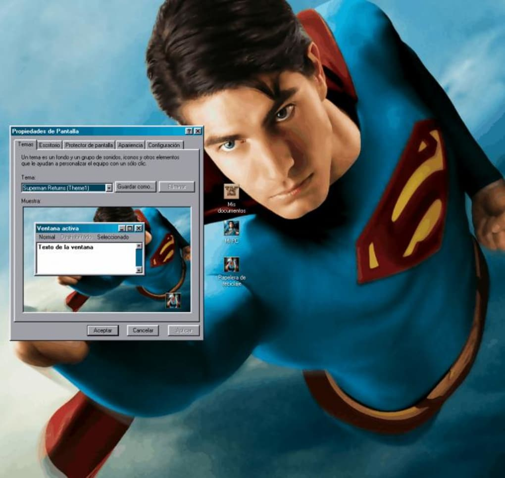 Superman returns theme song download