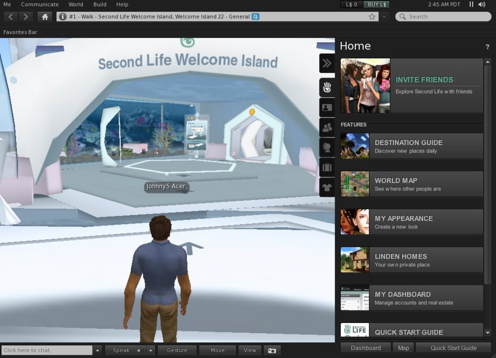 In Second Life
