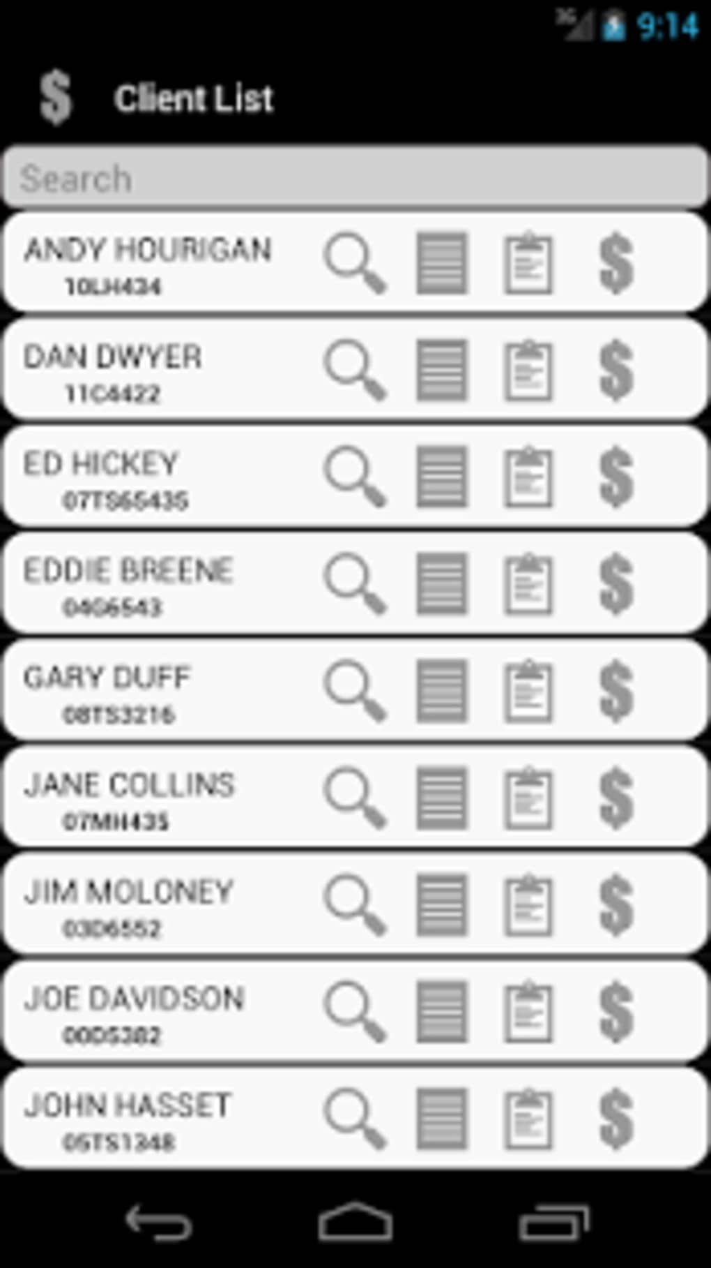 Auto Repair Bill for Android - Download