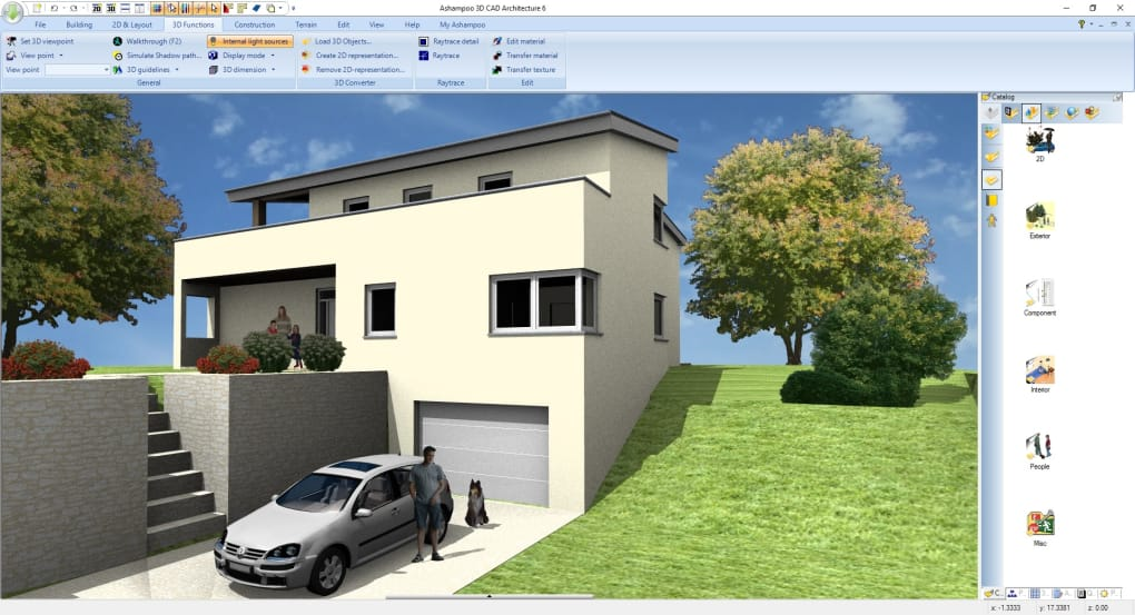 1/8 Screenshots. Ashampoo 3D CAD Architecture 6