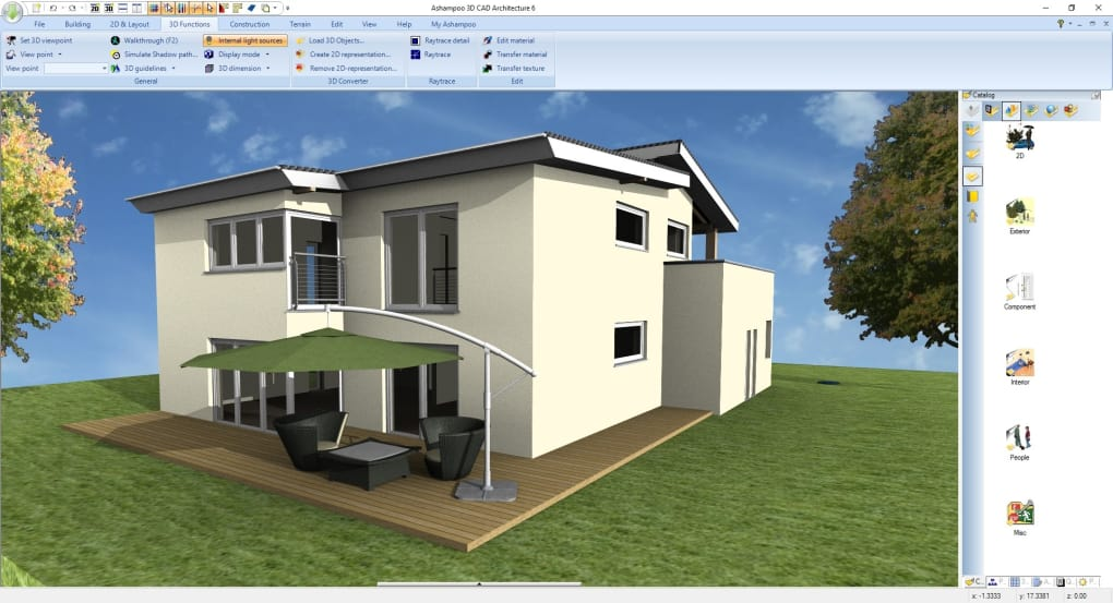 virtual architect professional home design 7.0 trial