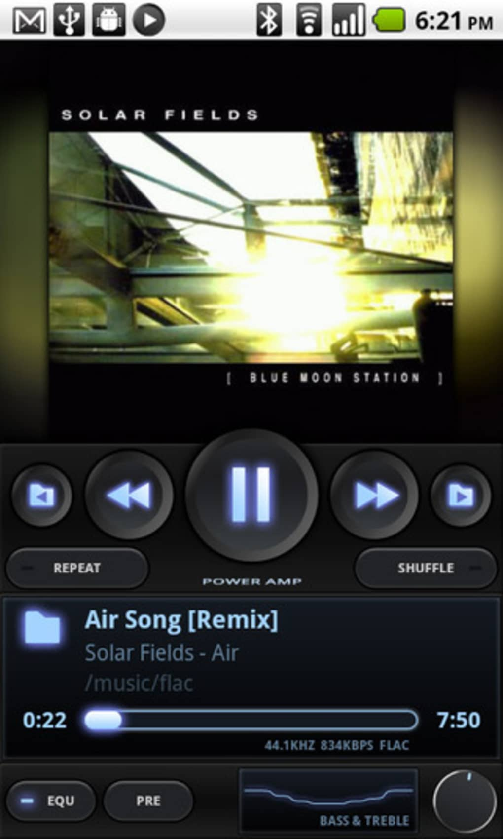 PowerAMP Music Player para Android - Descargar