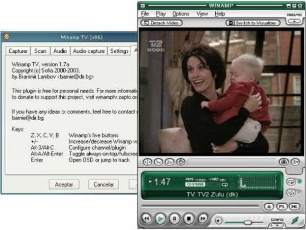 Winamp classic download.