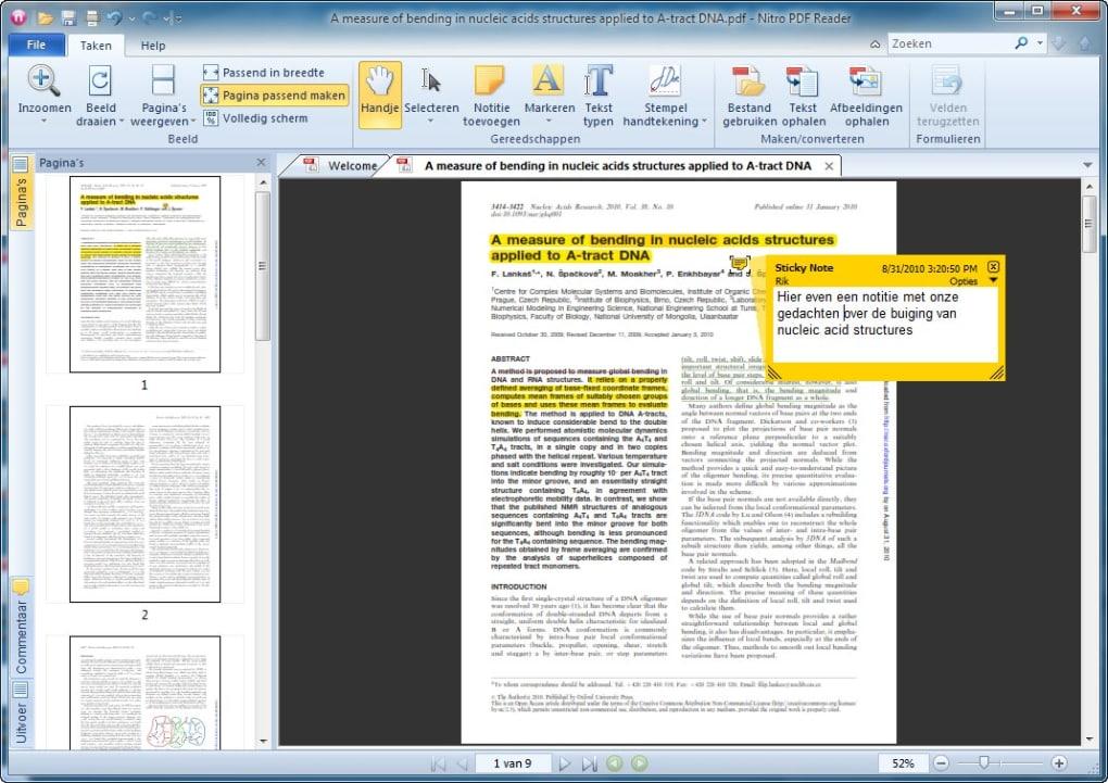 nitro pdf 64 bit