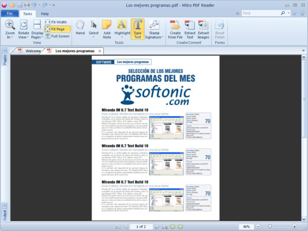 nitro pdf windows 7 64 bit
