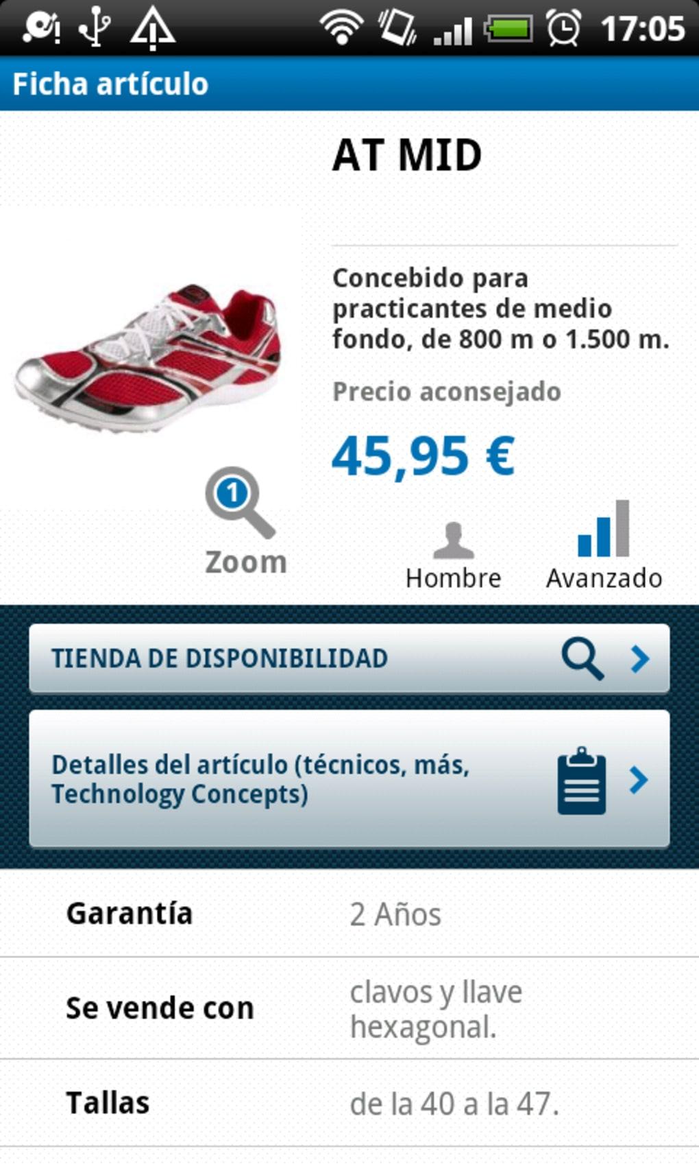 ee07bbd5d Decathlon para Android - Descargar
