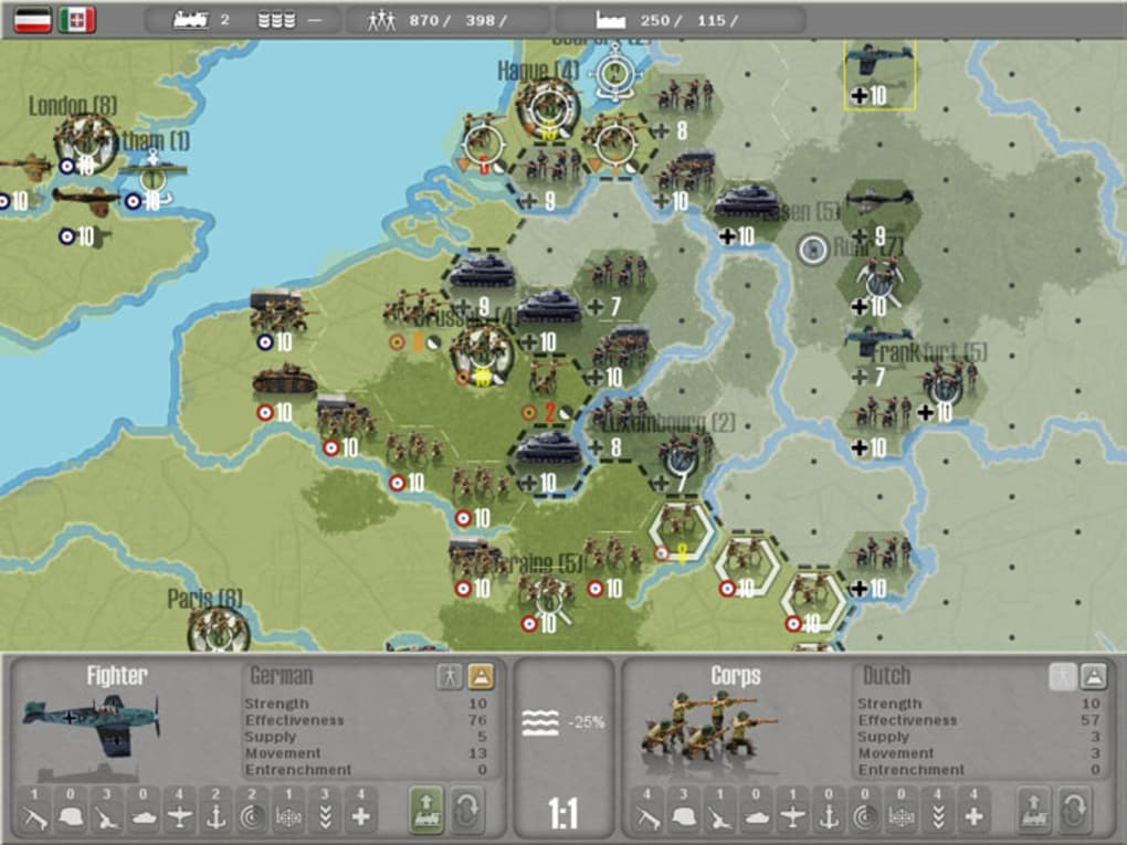 Commander - Europe at War for Mac - Download