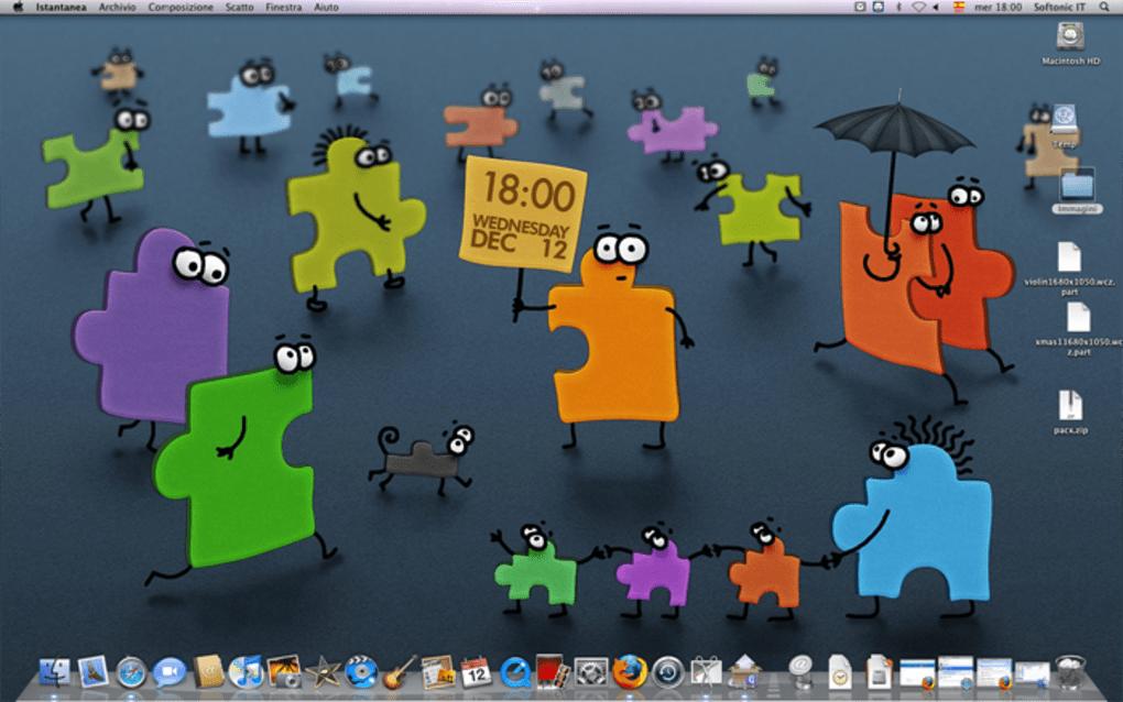 Wallpaper Clock Per Mac Download