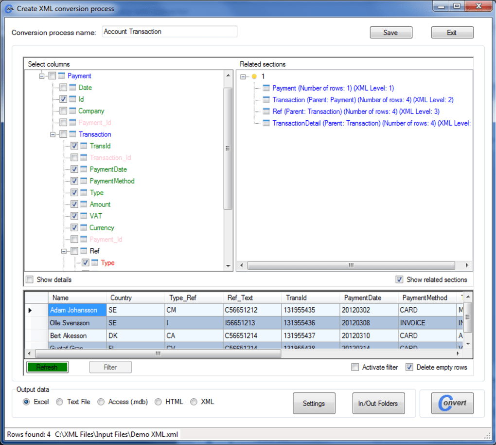 word to xml converter software free download
