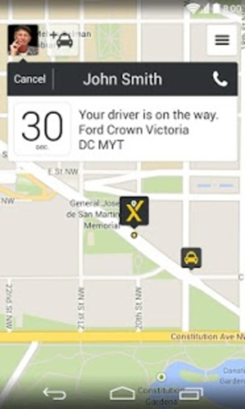 mytaxi – The Taxi App for Android - Download