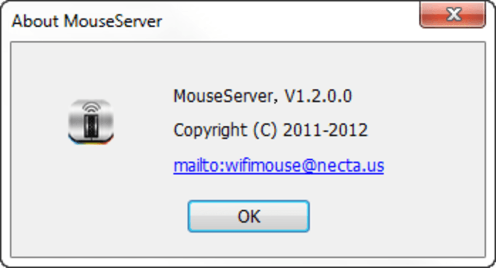 Remote mouse android pc server