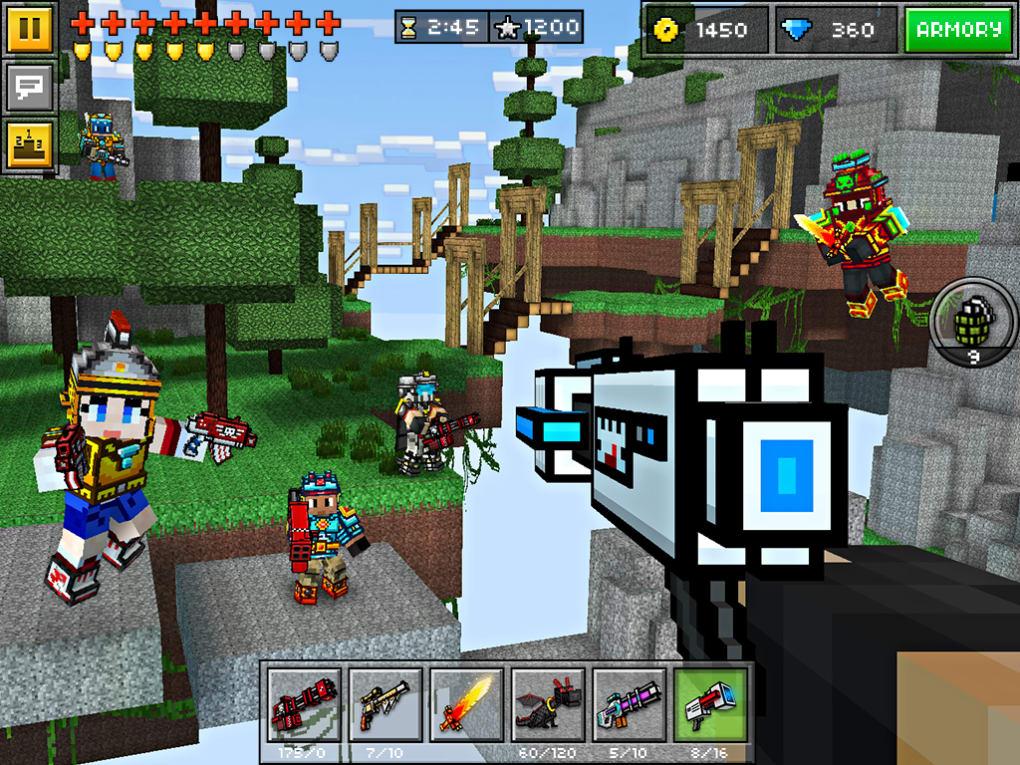 Pixel gun download uptodown   download pixel gun 3d battle grounds