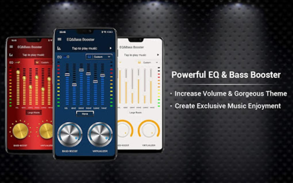 Equalizer -- Bass Booster Volume EQ Virtualizer for Android