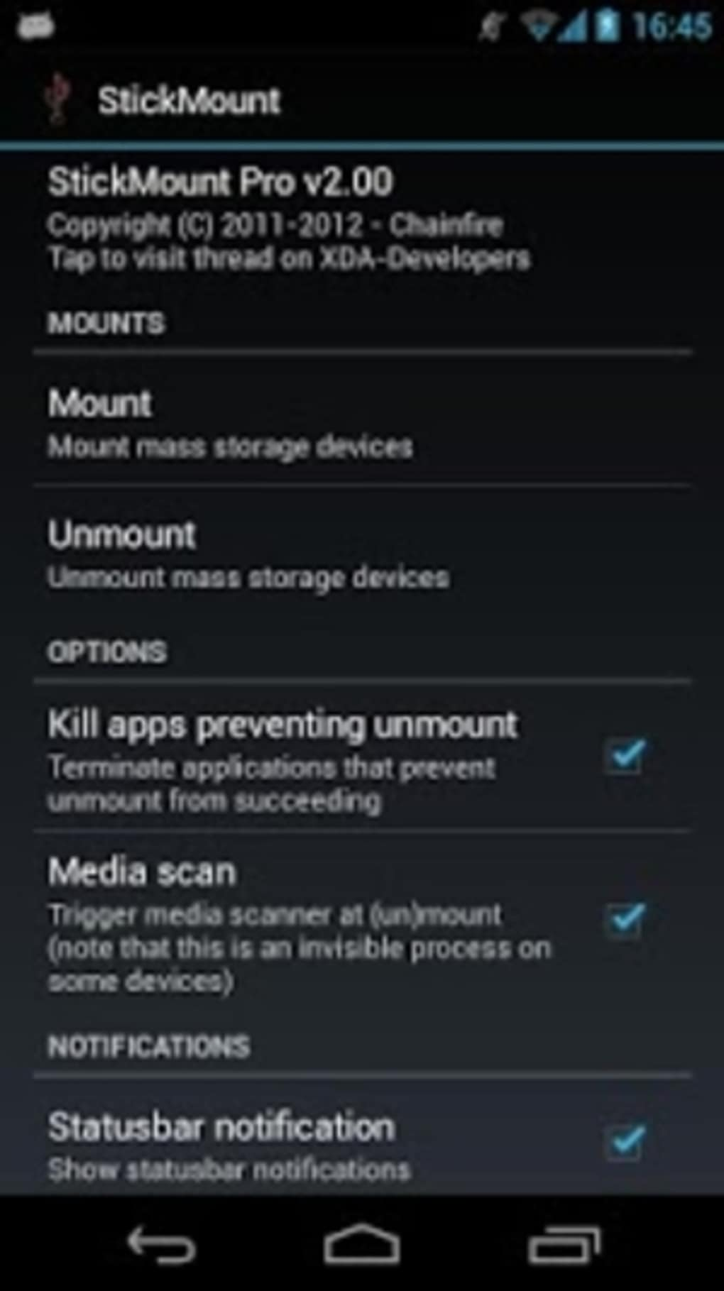 StickMount for Android - Download