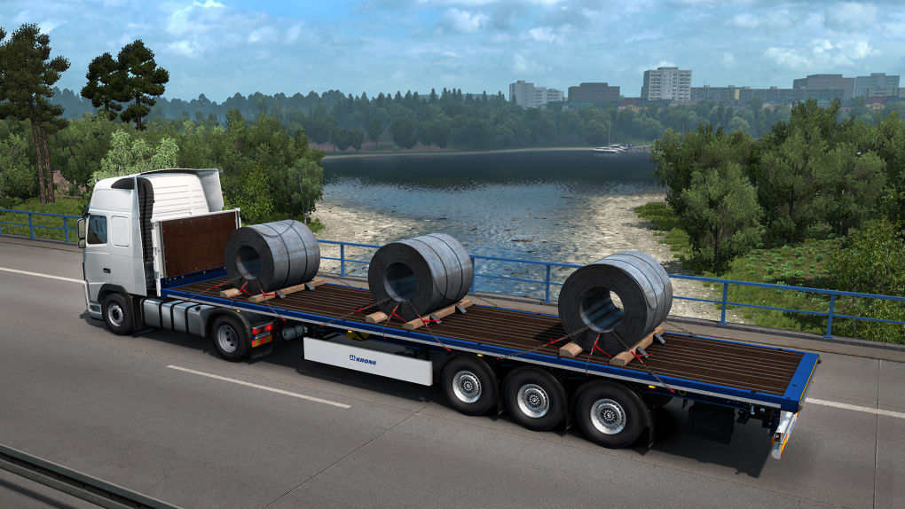 Euro Truck Simulator 2 - Krone Trailer Pack - Download