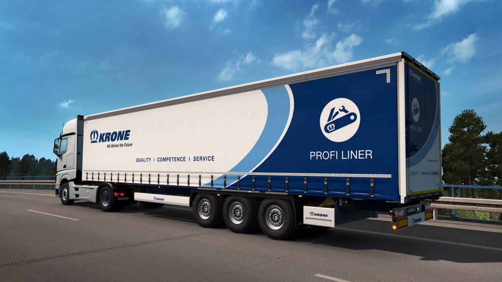 Euro Truck Simulator 2 - Krone Trailer Pack - Download