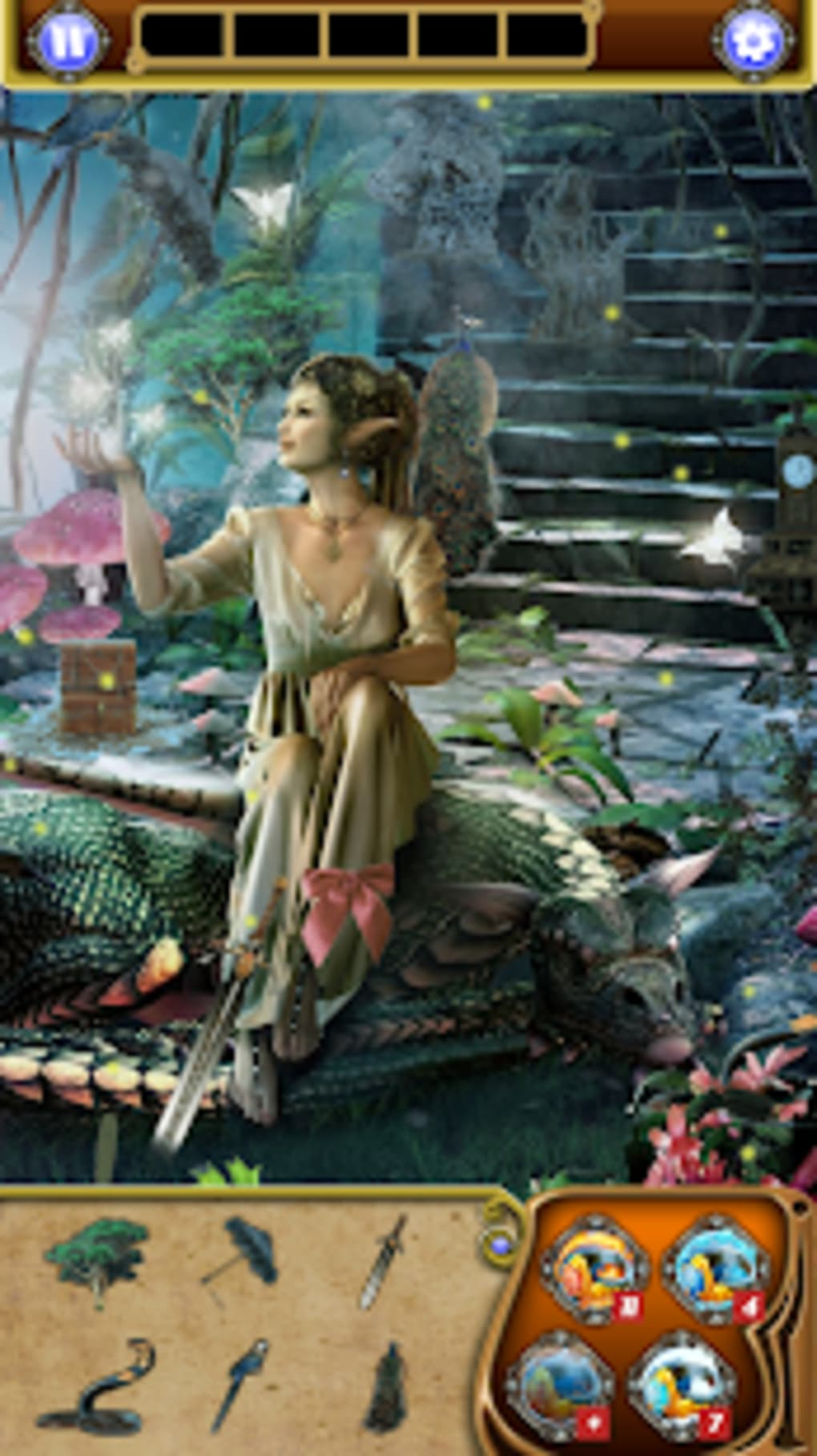 Hidden Object Elven Forest - Search Find for Android - Download