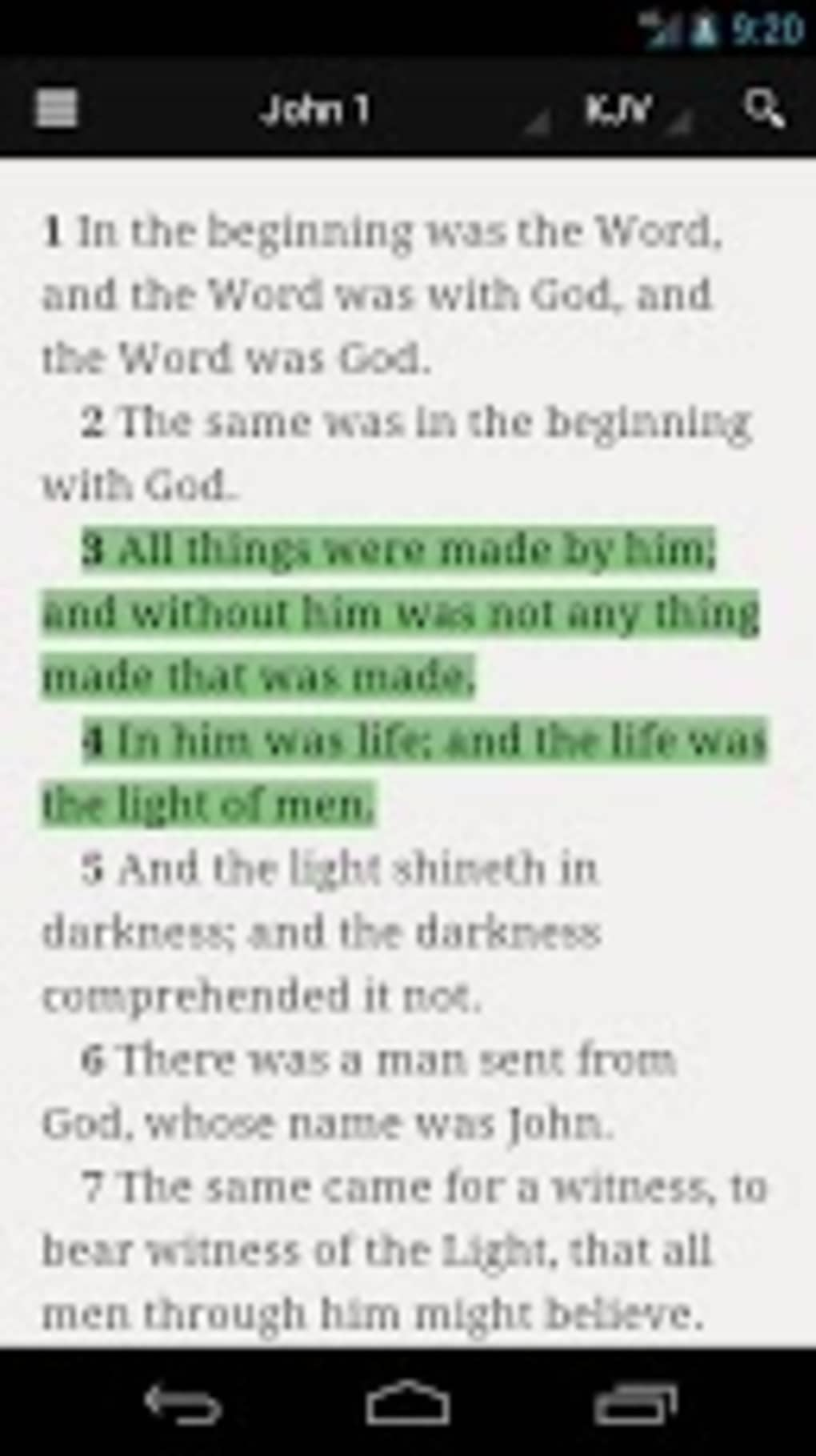 Bible for Android - Download