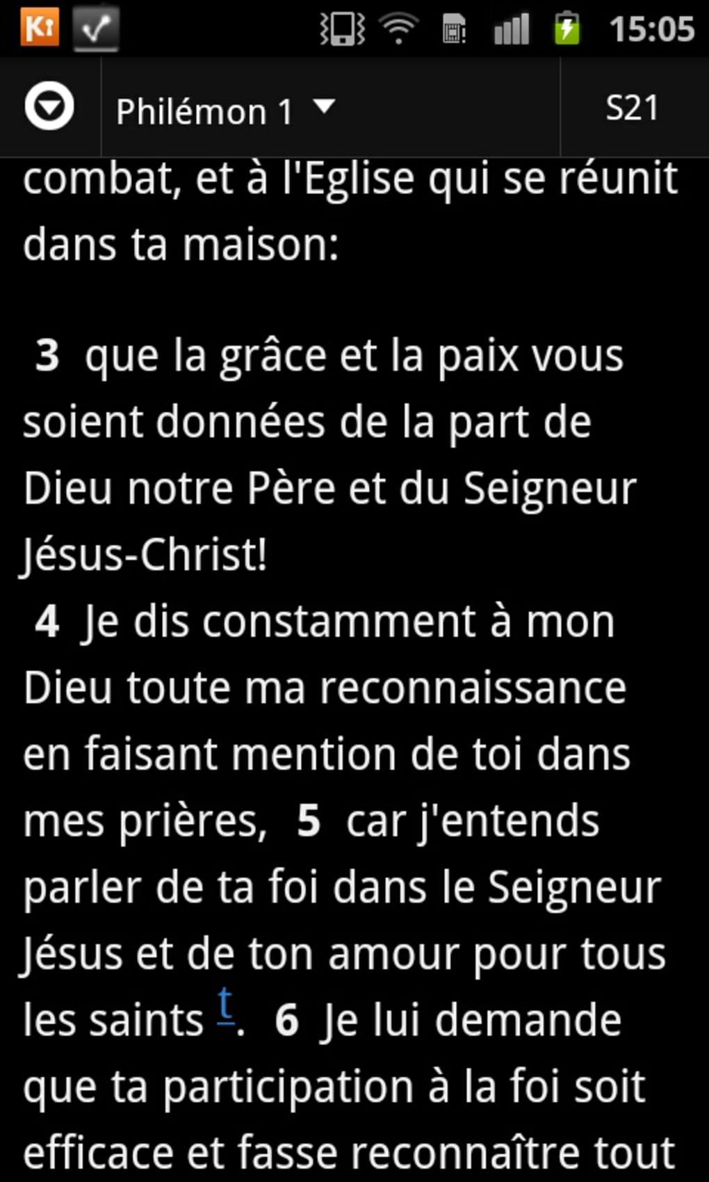 LOUIS GRATUIT WINDOWS OFFLINE SEGOND 7 BIBLE TÉLÉCHARGER POUR