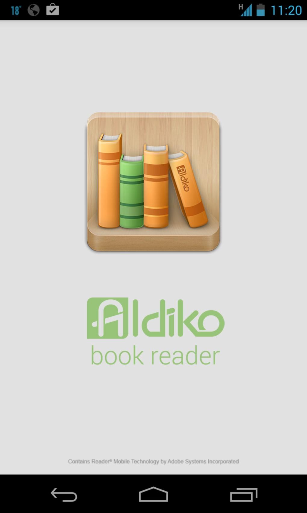 ALDIKO BOOK READER PREMIUM СКАЧАТЬ БЕСПЛАТНО