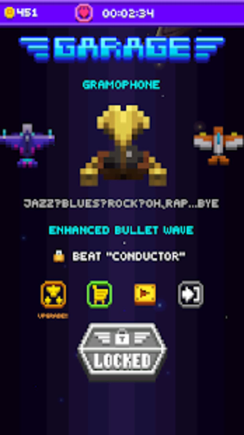 Space War Retro Shooter for Android - Download