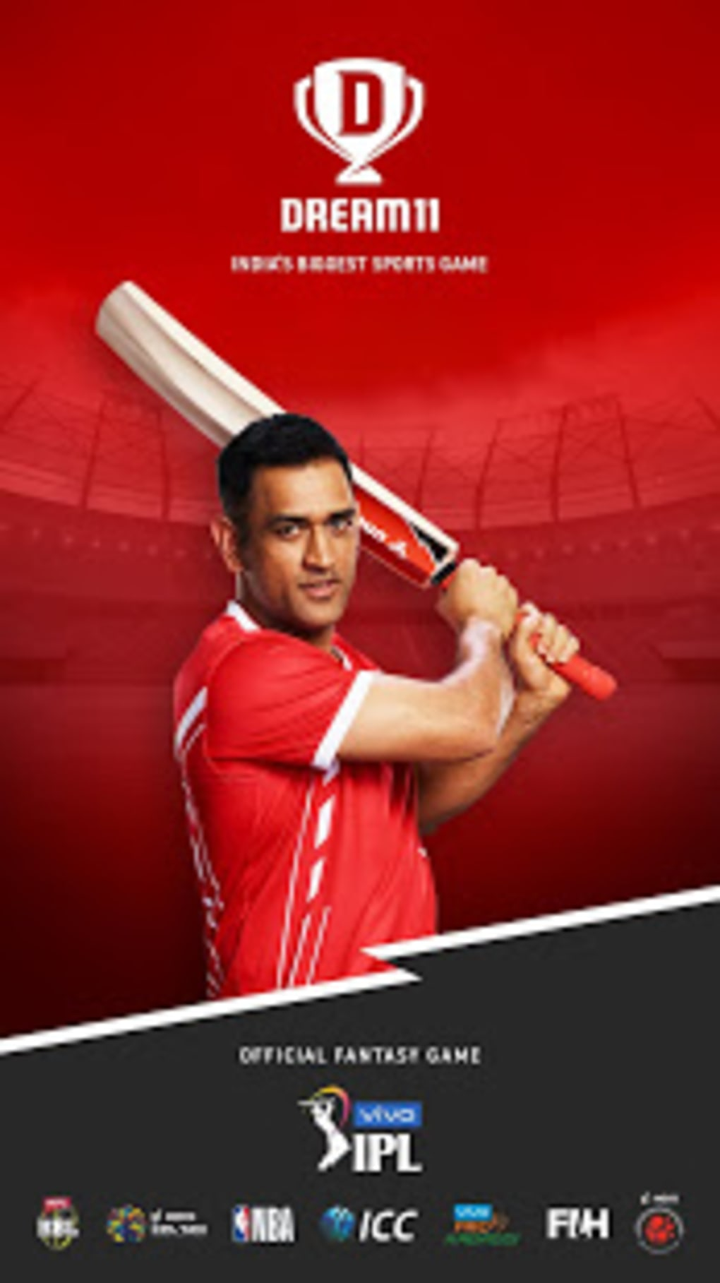 Dream11 Vivo IPL Official Partner Fantasy Sports for Android - Download