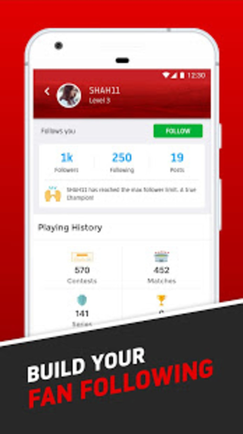 Dream11 Vivo IPL Official Partner Fantasy Sports for Android