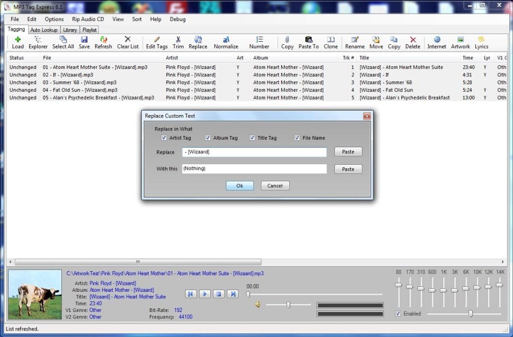 MP3 Tag Express - Download