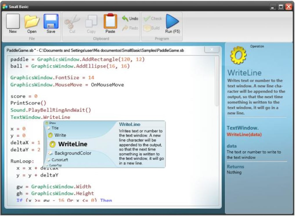 Microsoft Small Basic - Download