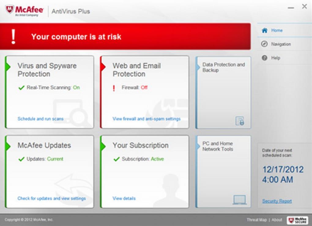 McAfee AntiVirus Plus - Download