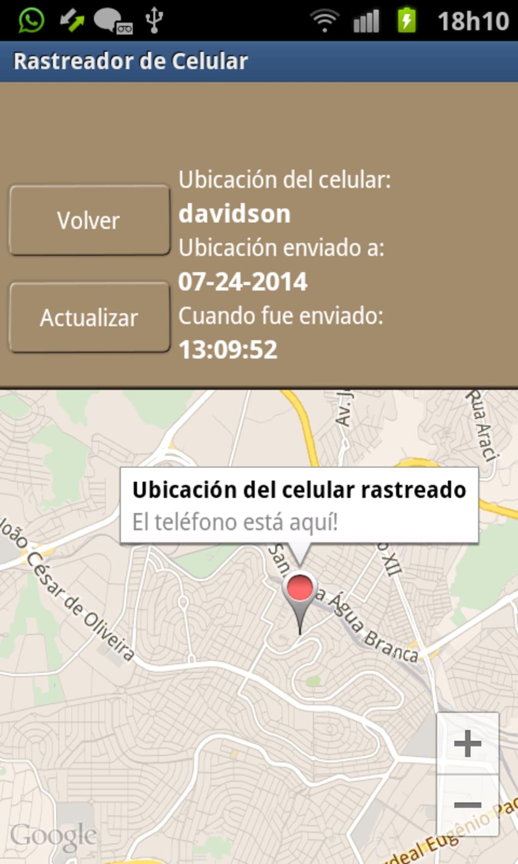 Como rastrear un celular con gps android - Descargar localizador para celular samsung gratis