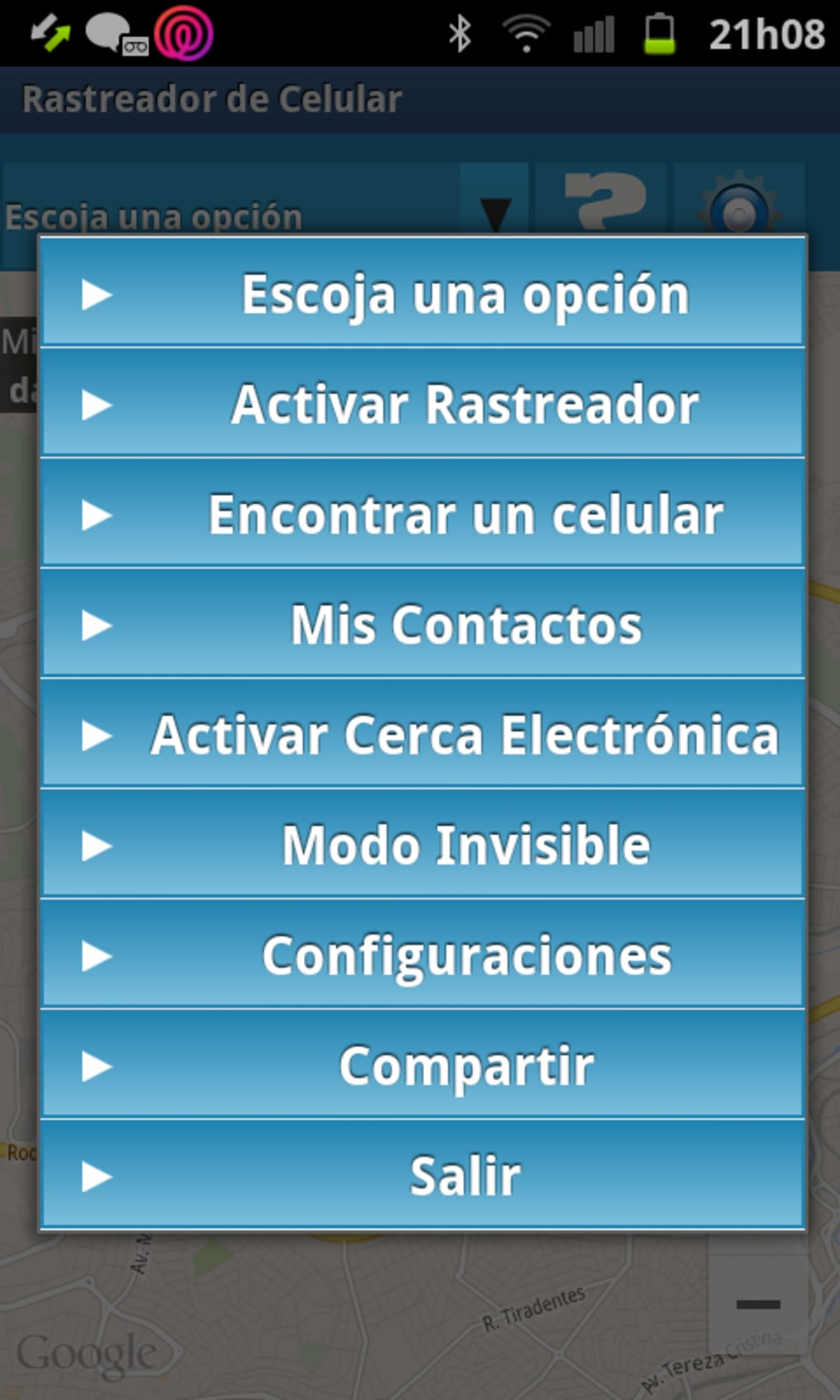 rastreador de celular hotmail