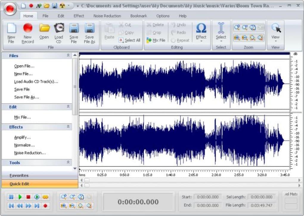 free audio editor untuk windows