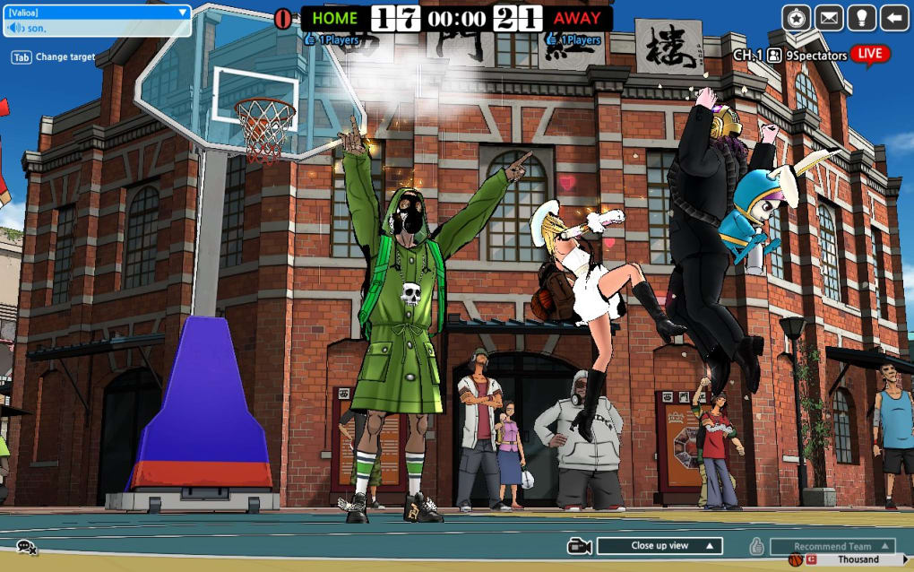 Freestyle street basketball review and download.
