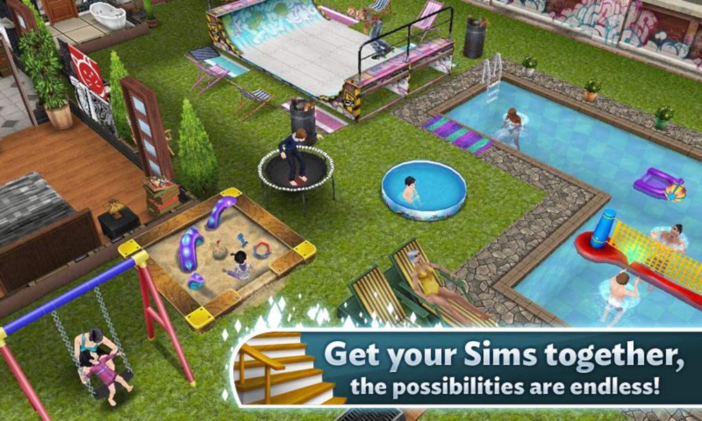 Скачать The Sims™ FreePlay 5.53.1 для андроид
