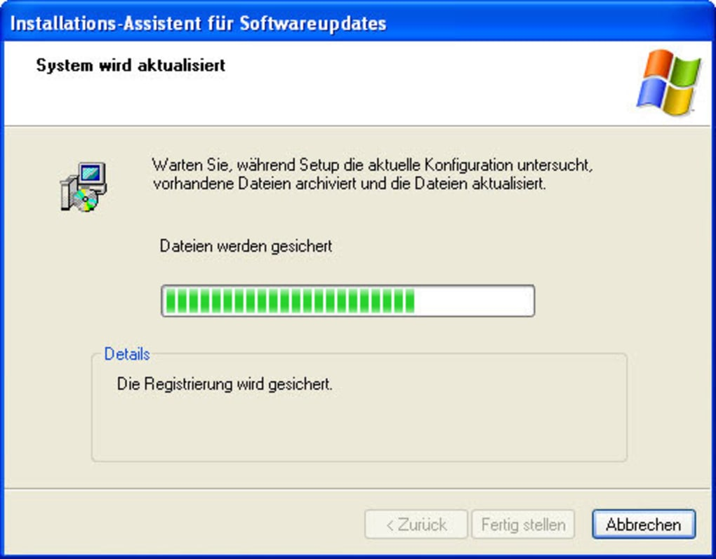 Windows updates sammlung install windows application as service