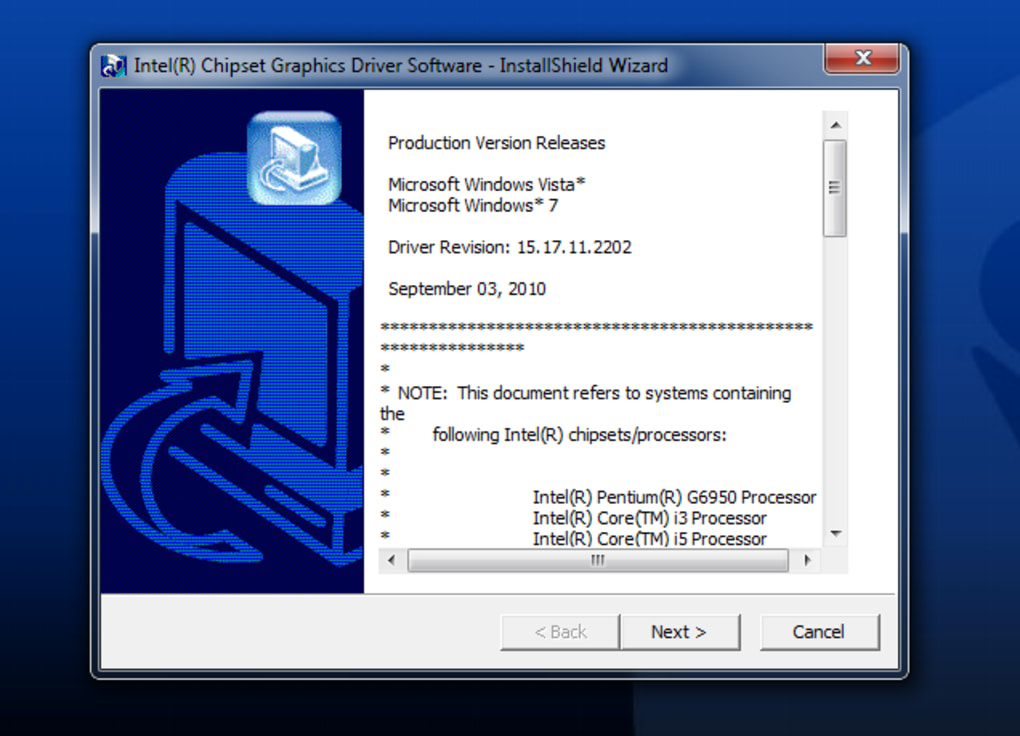 Intel Graphics Driver - Download